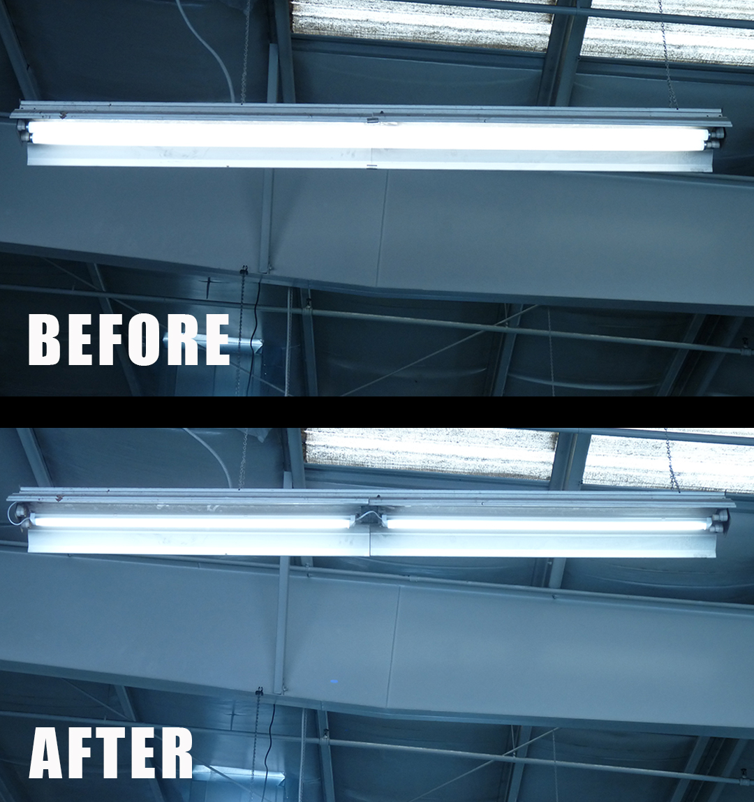 Before_After_Flourescent_to_LED